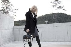Monique Lund // black and white // workwear // Burberry // Marc Jacobs // Prada