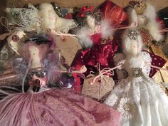 Handmade Christmas fairies