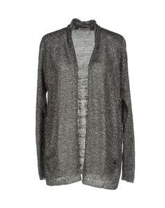 BRUNO MANETTI Women's Cardigan Steel grey 10 US