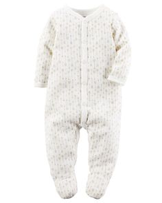 Baby Boy Thermal Snap-Up Sleep & Play from Carters.com. Shop clothing &…