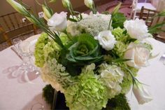 green apples and white pumpkins arrangements - Google Search