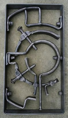 //Hand forged. blacksmith.Ralf