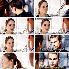 Divergent deleted scenes. I am probably going a little crazy right now because they MENTIONED DAUNTLESS CAKE they SHOWED dauntless cake OMG http://beatricepriah.tumblr.com/post/93165861528