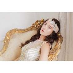 Largest collection of wedding and bridal hair pieces. Gold, silver, rose gold, lace bridal headpieces to choose from for your wedding. Headpiece Wedding, Wedding Veil, Bridal Headpieces, Wedding Attire, Wedding Gifts, Headband Styles, Bridesmaid Dresses, Wedding Dresses, Bridesmaids