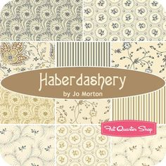 Haberdashery by Jo Morton for Andover Fabrics - July 2014