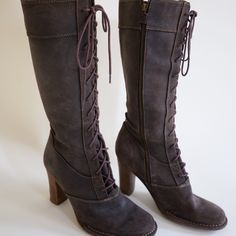 Frye Lace Up Boots