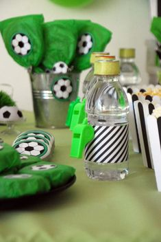 Soccer Themed Birthday Celebration - Birthday Party Ideas for Kids and Adults Sports Theme Birthday, Soccer Theme, Soccer Birthday, 9th Birthday Parties, 10th Birthday, Birthday Party Decorations, Baby Shower Decorations, Birthday Celebration, Soccer Cake