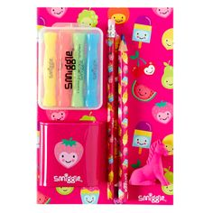 From kids stationery, kids tech accessories, food and drink accessories to jewellery and beyond, your BFFs and teachers will love these gifts from our Smiggle range. Little Girl Toys, Baby Girl Dolls, Toys For Girls, Too Cool For School, School Fun, Kids Toy Shop, Candy Bouquet Diy, Cute Suitcases, Stationary Supplies
