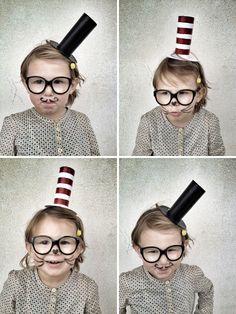 #DIY paper rol hats  Love the idea