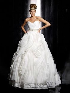 The Christina Wu Wedding Dresses have been a leader in the bridal industry for almost 20 years. Christina Wu offers gorgeous wedding dresses, that feature Wedding Dress 2013, Stunning Wedding Dresses, Wedding Dress Styles, Beautiful Dresses, Wedding Gowns, Bridal Outfits, Bridal Dresses, Bridesmaid Dresses, Catherine Deane Wedding Dress