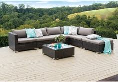 Outdoor Lounge Settings | Super Amart