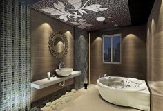 Amazing Master Bathrooms Designs 10