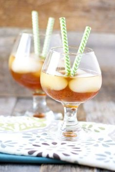 Super easy Iced Vanilla Chai Tea! www.maebells.com