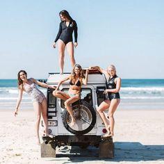 @defendergirls #landrover #landroverdefender #love #girl #girls #defender #summerlove #defenderlove #adventurethatislife #adventures #temptation #woman #look #pretty #beautiful #surf #beach...