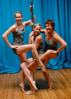 Ann, Julie and Carlynn  Athens Vertical Pole Dance Academy : (706).347.3708  160-6a Tracy Street  Chase Street Warehouses  (Inside Canopy Studio)  Athens, GA 30601
