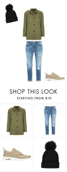 """""""Untitled #123"""" by doda-laban on Polyvore featuring Topshop, Frame Denim, NIKE and Forever 21"""