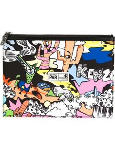 Shop Kenzo 'Cartoon' clutch in Likus Concept Store from the world's best independent boutiques at farfetch.com. Shop 400 boutiques at one address.