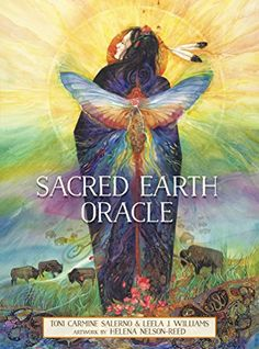 Sacred Earth Oracle by Toni Carmine Salerno & Leela J. Gorgeous artwork by Helena Nelson-Reed. by Blue Angel, dist. Plant Images, Tarot Learning, Tarot Readers, Oracle Cards, Visionary Art, Tarot Decks, Deck Of Cards, Beautiful Artwork, Oracle Deck