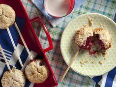 Berry Pie Pops (Pie on a Stick) by Kelsey Nixon