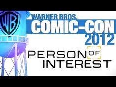 Comic-Con 2012: Person of Interest Panel