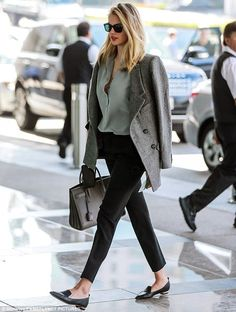 Another side: As a model, she may photograph in revealing ensembles. Outside shooting spreads and campaigns, the blonde beauty chooses a more modest approach to her wardrobe