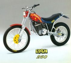 Dirt Bike Magazine, Trial Bike, Vintage Motocross, Trail Riding, Bike Design, Scrambler, Trials, Cars And Motorcycles, Motorbikes