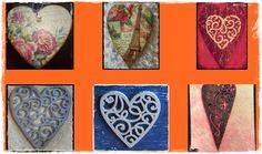 El Refugio de Lirtea: CORAZONES PARA SAN VALENTIN Decoupage, Playing Cards, Saints, Valentines, Hearts, Playing Card Games, Game Cards, Playing Card