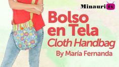 DIY - Fabric Handbag - Bolso en Tela #13  by Minauri ( How to / Hazlo tú )