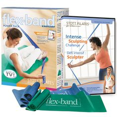 Stott Pilates Flex-Band Kit, Boost Endurance, Tone Muscles and Strengthen Abs Get the benefits of resistance training with a small but powerful tool, the Flex-Band exerciser. It will leave you feeling strong, toned and organized. Fitness Goals, Health Fitness, Muscular Endurance, Pilates Workout, Pilates Fitness, Joseph Pilates, No Equipment Workout, Fitness Equipment, Muscle Tone