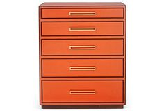 perfect for a home office! imagine the orange with some animal print. Get the Look | One Kings Lane