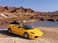 Ferrari F430 Spider 2005 poster, #poster, #mousepad, #Ferrari #printcarposter