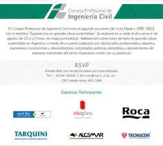 """Fórum+CPIC sobre """"Experiencias en grandes obras sustentables"""" – ARQA"""