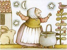 Vintage Children's Books: Strega Nona by Tomie dePaola