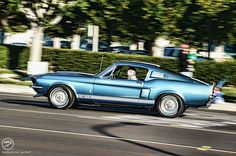 The Shelby Mustang is a high performance variant of the Ford Mustang which was built by Shelby American from 1965 through 1970. Following the introduction of the fifth generation Ford Mustang, the Shelby nameplate was revived in 2007 for new high per