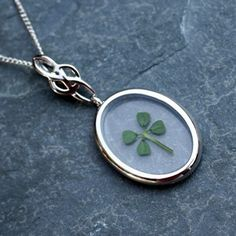 Luck of the Irish?!  I'm Irish, now where is my darn luck?  Maybe I need this necklace :D