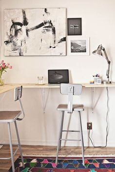 DIY Project Ideas: Wall-Mounted Tables for Every Room in the House | Apartment Therapy