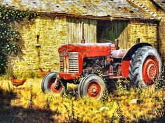 The Red Tractor by Edward Hersey