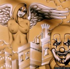 Angel and Clown