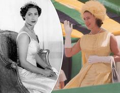 QUEEN ELIZABETH II approved Prince Harry's marriage to divorcee Meghan Markle, but it is believed did not allow the marriage of her own sister Princess Margaret to Peter Townsend. It is thought this is down to a royal divorce rule change. Margaret Rose, Princess Margaret, Prince Harry Wedding, Princess Wedding, Captain Peter Townsend, Sarah Armstrong, Queen's Sister, 65th Anniversary, Meghan Markle Prince Harry