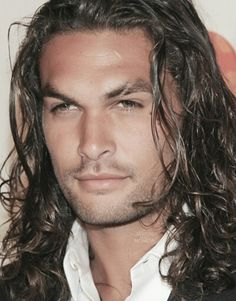 Jason Momoa, my favorite look for Jason, is this one......@penny shima glanz shima glanz Douglas
