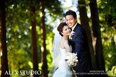 ALEX STUDIO PHOTOGRAPHY AND CINEMATOGRAPHY Maternity, Newborn, Head shot, Fashion portfolio Destination Wedding- Worldwide Travel Please contact us at 425.883.6800 Wedding, Couple Portraits, Asian Couple, park