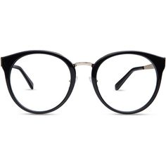 6d585a54fc3 Unisex full frame mixed material eyeglasses ( 29) ❤ liked on Polyvore  featuring accessories