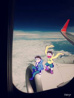 Flying in the stratosphere (karamatsu jyushimatsu)