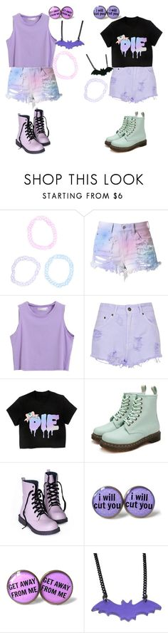"""""""Pastel"""" by kiara-cvrtnjak on Polyvore featuring moda, Hot Topic, Cotton Candy i The Ragged Priest"""