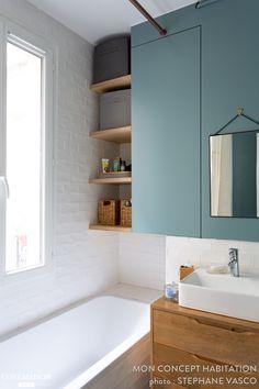 Un appartement de couple rénové avec brio !, Mon Concept Habitation - Côté Maison