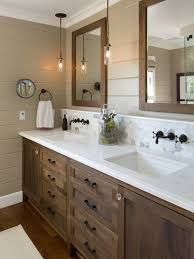 Image result for farmhouse bathroom vanity unit