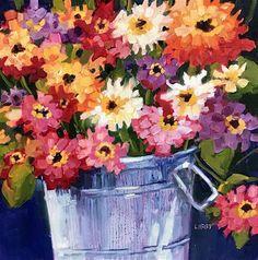 "Daily Paintworks - ""Second Nature"" - Original Fine Art for Sale - © Libby Anderson Kids Art Class, Art For Kids, Drawing For Kids, Painting For Kids, Acrylic Flowers, Fine Art Gallery, Art Education, Art For Sale, Art Lessons"