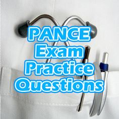 The PANCE test, formally known as the Physician Assistant National Certifying Exam, is a challenging and comprehensive assessment for anyone wanting to enter the healthcare field. If you're studying to enter the healthcare field as a physician assistant, take advantage of these free PANCE exam practice questions. #pance #pa