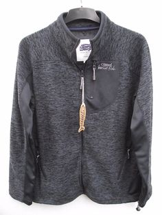Weird #fish. full zip #jacobellis fleece sweatshirt #jacket top. medium rrp £50 ,  View more on the LINK: http://www.zeppy.io/product/gb/2/232215881228/