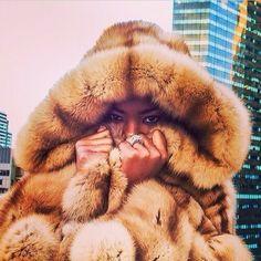 Sable fur